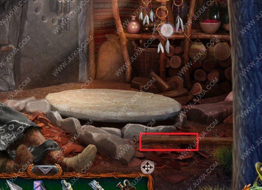 密室逃脫10偵探風雲新版攻略第四章中怎麼過 薩滿的佈怎麼拿到
