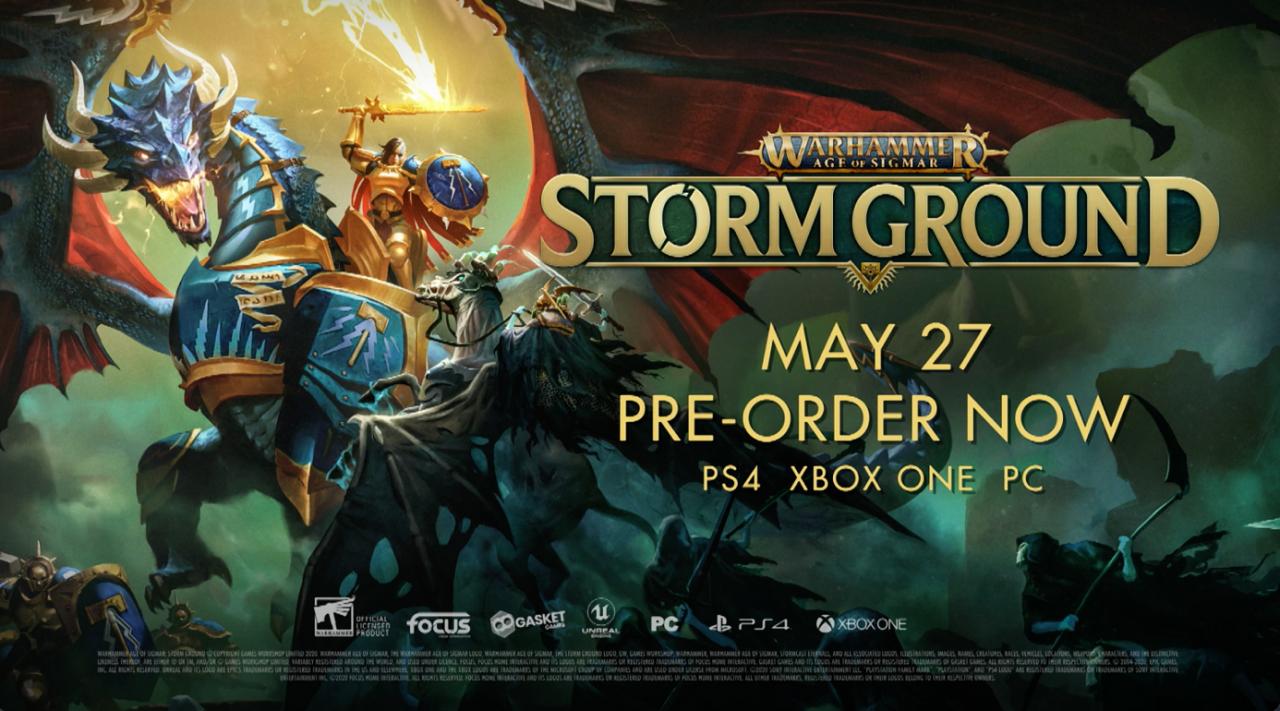 《戰錘西格瑪時代:風暴之地》遊戲玩法概覽預告片展示瞭首個深入策略行動
