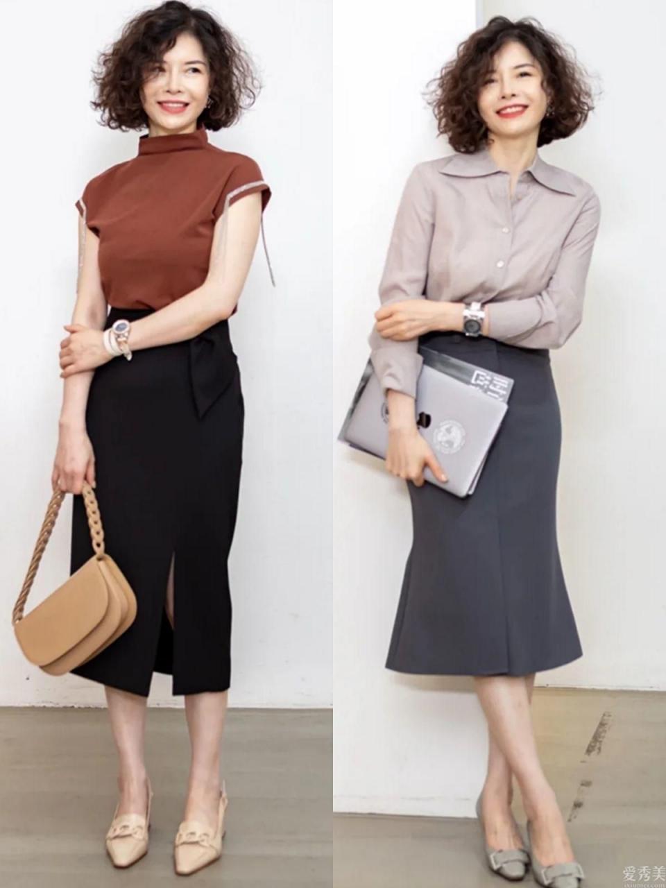 40+的女性怎樣提高自己的穿衣風格?飾品配搭,要比服裝款式更關鍵
