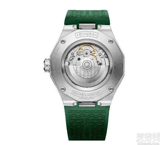 名流發佈全新升級利維拉系列產品日歷全自動上鏈翠綠色車漆手表