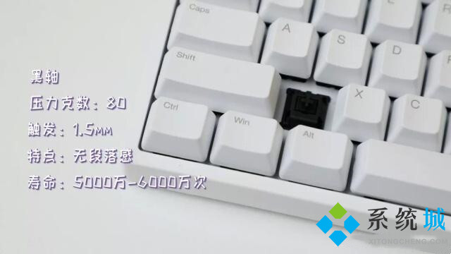 機械鍵盤黑軸介紹